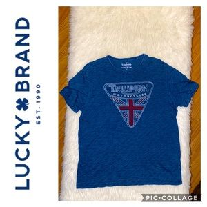 Lucky Brand Triumph Motorcycle Shirt *NWOT* 😎
